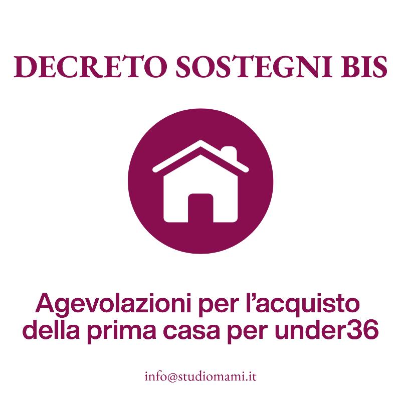 Agevolazioni per l'acquisto della prima casa per i più giovani