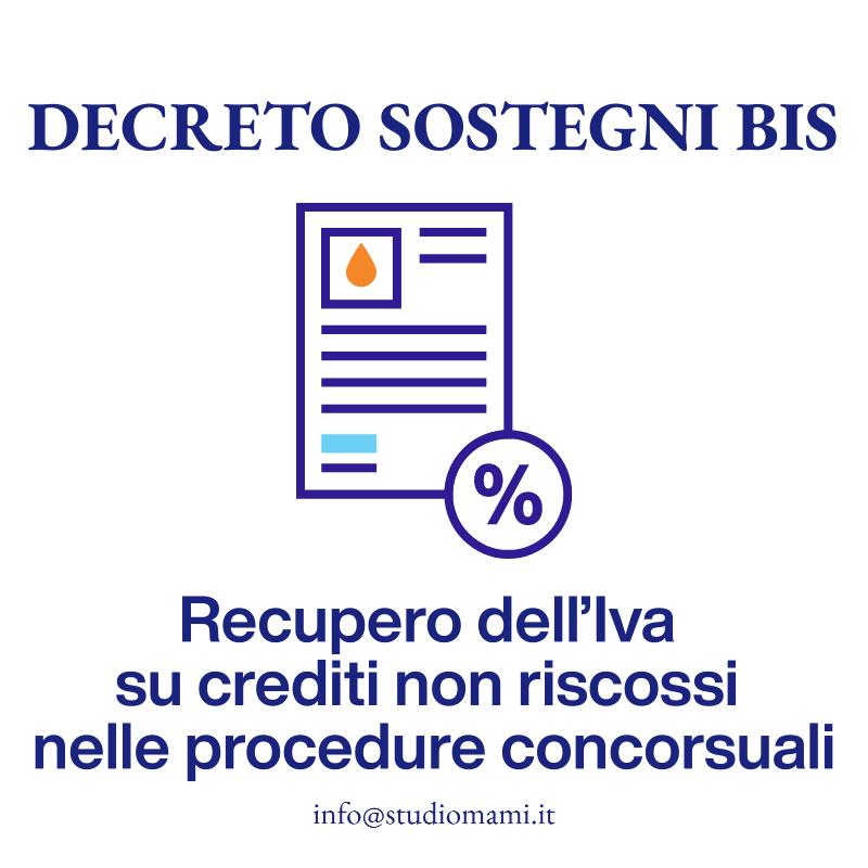 Recupero IVA su crediti non riscossi