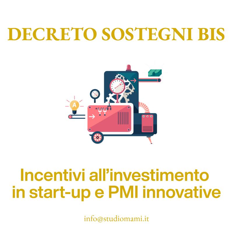 Incentivi all'investimento in start-up e PMI innovative